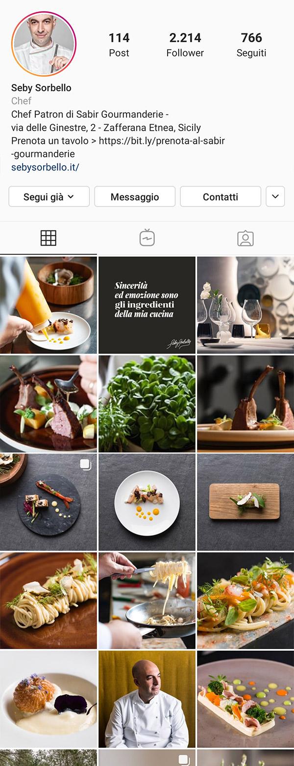 La Cook Instagram Seby Sorbello