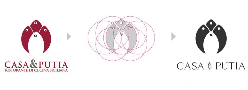 Icon Geometry Logo Casa & Putia