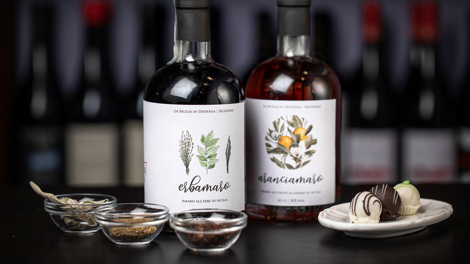 La Cook Amaro Casa & Putia La Sicilia in Dispensa