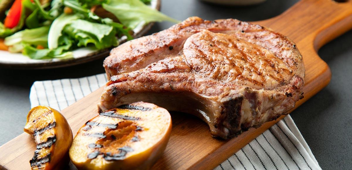 La Cook Portfolio Mulinello Grill Porkchop