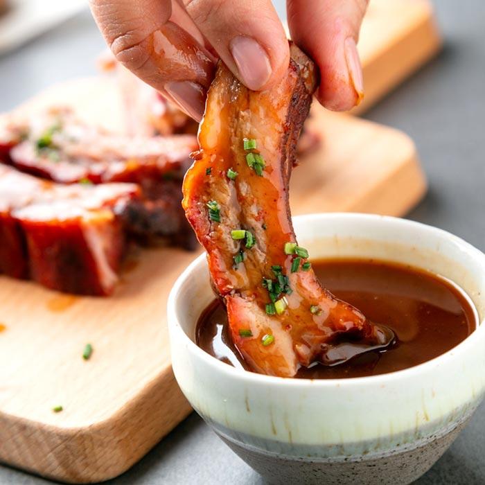 La Cook Portfolio Mulinello Ribs BBQ