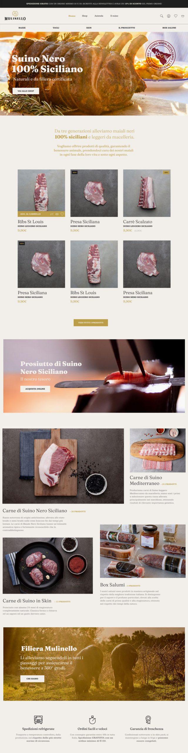La Cook Portfolio Mulinello Website
